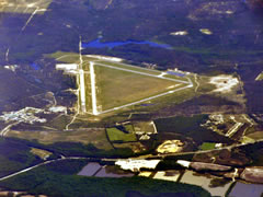 Aerial photo of KHFF (Mackall Army Airfield)