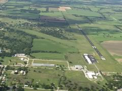 Aerial photo of KMKN (Comanche County-City Airport)