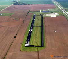 Aerial photo of KBKN (Blackwell-Tonkawa Municipal Airport)