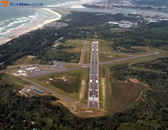 Aerial photo of KONP (Newport Municipal Airport)