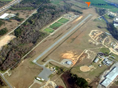 Aerial photo of 75J (Turner County Airport)