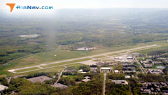 Aerial photo of KITH (Ithaca Tompkins Regional Airport)