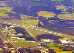Aerial photo of KACJ (Jimmy Carter Regional Airport)