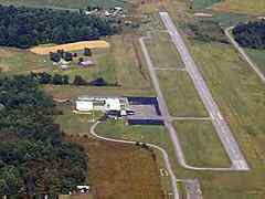 Aerial photo of KAAS (Taylor County Airport)