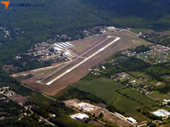 Aerial photo of 8D4 (Paul C Miller-Sparta Airport)