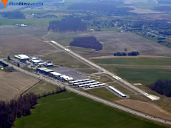 Aerial photo of KEVY (Summit Airport)