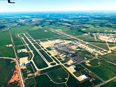 Aerial photo of KOKC (Will Rogers World Airport)