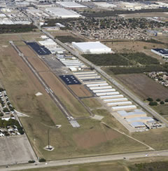 Aerial photo of KGPM (Grand Prairie Municipal Airport)