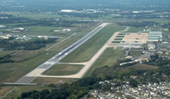 Aerial photo of KMRB (Eastern WV Regional Airport/Shepherd Field)