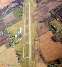 Aerial photo of KRZT (Ross County Airport)