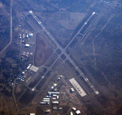 Aerial photo of KRDM (Roberts Field Airport)