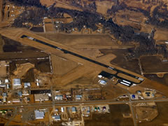 Aerial photo of KRWF (Redwood Falls Municipal Airport)