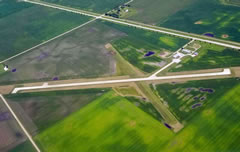 Aerial photo of KEAG (Eagle Grove Municipal Airport)