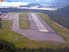 Aerial photo of PAVD (Valdez Pioneer Field Airport)