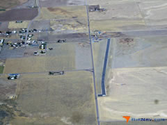 Aerial photo of U58 (Downey (Hyde Memorial) Airport)