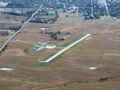 Aerial photo of 13K (Lt. William M. Milliken Airport)