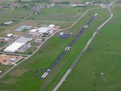 Aerial photo of T85 (Yoakum Municipal Airport)