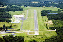 Aerial photo of KCMD (Cullman Regional Airport-Folsom Field)