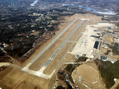Aerial photo of KBXM (Brunswick Executive Airport)