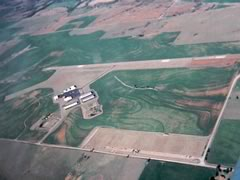 Aerial photo of KCLK (Clinton Regional Airport)