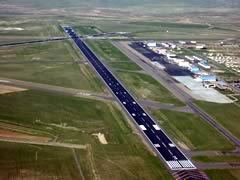 Aerial photo of KCPR (Casper/Natrona County International Airport)