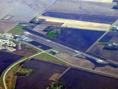 Aerial photo of KOVL (Olivia Regional Airport)