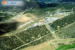 Aerial photo of 00C (Animas Air Park)