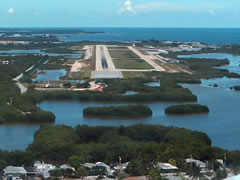 Aerial photo of KEYW (Key West International Airport)