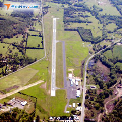 Aerial photo of H35 (Clarksville Municipal Airport)