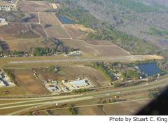 Aerial photo of KDLC (Dillon County Airport)