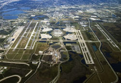 Aerial photo of KMCO (Orlando International Airport)