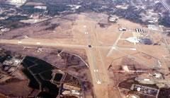 Aerial photo of KFLO (Florence Regional Airport)