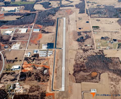 Aerial photo of KUNO (West Plains Regional Airport)