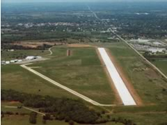 Aerial photo of KCUH (Cushing Municipal Airport)