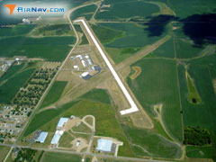 Aerial photo of KMDS (Madison Municipal Airport)