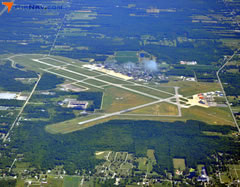 Aerial photo of KYNG (Youngstown-Warren Regional Airport)