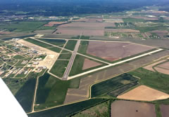 Aerial photo of KHYI (San Marcos Regional Airport)