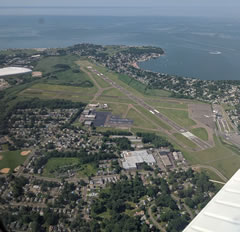 Aerial photo of KHVN (Tweed-New Haven Airport)