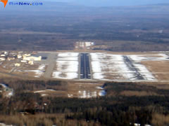 Aerial photo of PAFB (Ladd Army Airfield)
