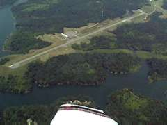 Aerial photo of I10 (Noble County Airport)
