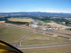 Aerial photo of KMMV (Mc Minnville Municipal Airport)