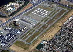 Aerial photo of KRHV (Reid-Hillview Airport of Santa Clara County)