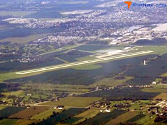 Aerial photo of KTZR (Bolton Field Airport)