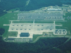Aerial photo of KFHK (Knox Army Heliport)