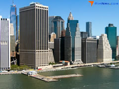 Aerial photo of KJRB (Downtown Manhattan/Wall St Heliport)