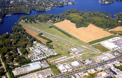 Aerial photo of KANP (Lee Airport)