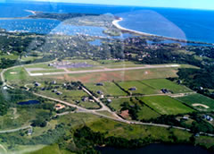 Aerial photo of KBID (Block Island State Airport)