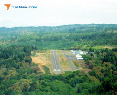 Aerial photo of KBOK (Brookings Airport)