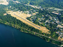 Aerial photo of KCZK (Cascade Locks State Airport)