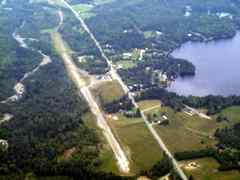 Aerial photo of KERR (Errol Airport)